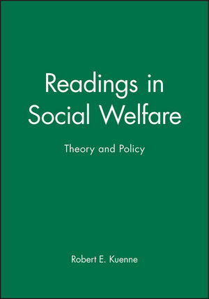 Readings in Social Welfare: Theory and Policy (0631220720) cover image