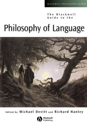 The Blackwell Guide to the Philosophy of Language (0631231420) cover image