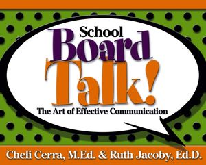 School Board Talk!: The Art of Effective Communication (0787979120) cover image