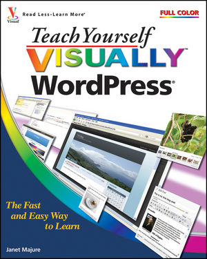 Teach Yourself Visually WordPress (1118081420) cover image