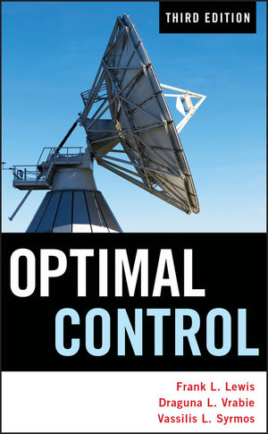 Optimal Control, 3rd Edition (1118122720) cover image