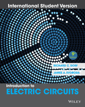 introduction to electric circuits, 9th edition international student