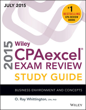 Wiley CPAexcel Exam Review 2015 Study Guide July: Business Environment and Concepts