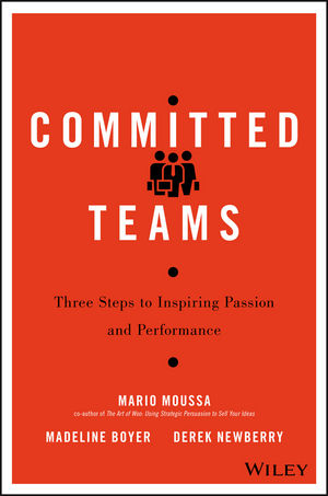 Committed Teams: Three Steps to Inspiring Passion and Performance (1119157420) cover image