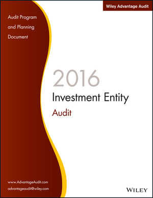 Wiley Advantage Audit 2016 - Investment Entity