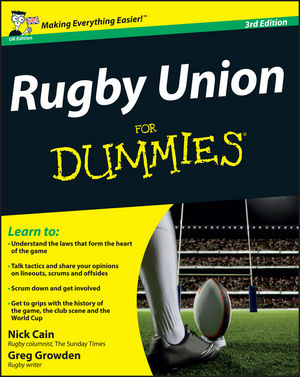 Rugby Union For Dummies, 3rd UK Edition