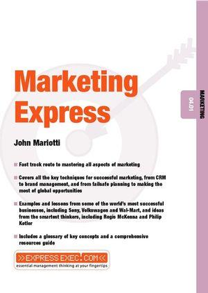 Marketing Express: Marketing 04.01