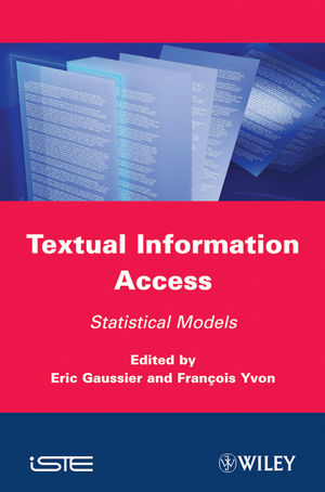 Textual Information Access: Statistical Models