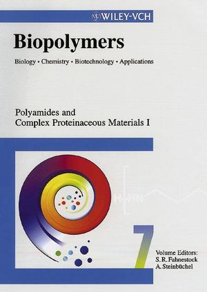 Biopolymers, Biology, Chemistry, Biotechnology, Applications, Volume 7, Polyamides and Complex Proteinaceous Materials I
