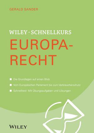 Wiley-Schnellkurs Europarecht