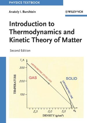 Introduction to Thermodynamics and Kinetic Theory of Matter, 2nd Edition (3527618120) cover image