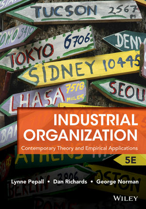 Industrial Organization: Contemporary Theory and Empirical Applications, 5th Edition (EHEP002920) cover image