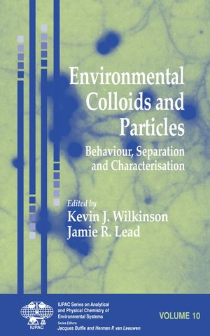 Environmental Colloids and Particles: Behaviour, Separation and Characterisation (0470024321) cover image