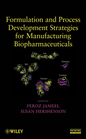 Formulation and Process Development Strategies for Manufacturing Biopharmaceuticals (0470118121) cover image