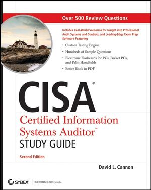 CISA Certified Information Systems Auditor Study Guide, 2nd Edition (0470231521) cover image