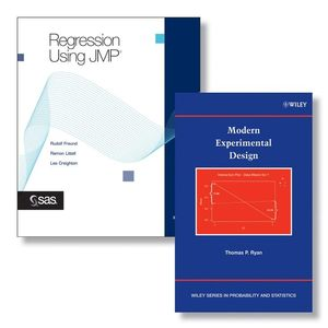 SAS Regression Using JMP Set + Modern Experimental Design Set (0470388021) cover image