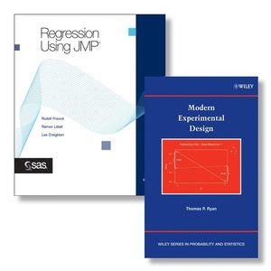 SAS Regression Using JMP Set + Modern Experimental Design Set