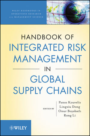 Handbook of Integrated Risk Management in Global Supply Chains (0470535121) cover image