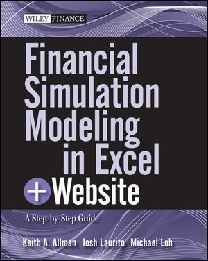 Financial Simulation Modeling in Excel: A Step-by-Step Guide, + Website (0470931221) cover image
