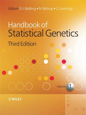Handbook of Statistical Genetics, 3rd Edition (0470997621) cover image