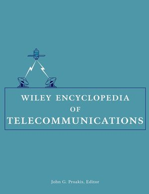 Wiley Encyclopedia of Telecommunications , 5 Volume Set  (0471369721) cover image