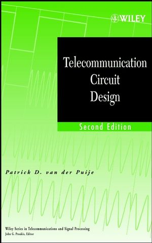 Telecommunication Circuit Design, 2nd Edition (0471415421) cover image
