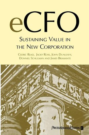 eCFO: Sustaining Value in the New Corporation (0471496421) cover image