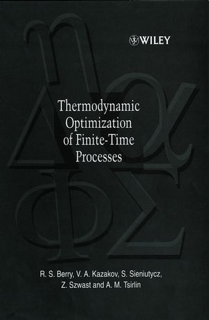 Thermodynamic Optimization of Finite-Time Processes (0471967521) cover image