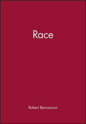 Race (0631207821) cover image