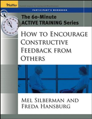 The 60-Minute Active Training Series: How to Encourage Constructive Feedback from Others, Participant