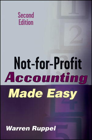 Not-for-Profit Accounting Made Easy, 2nd Edition (1118040821) cover image