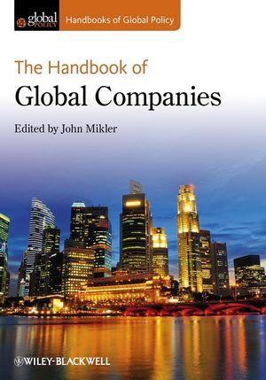 The Handbook of Global Companies (1118326121) cover image