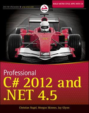 Professional C# 2012 and .NET 4.5 (1118332121) cover image