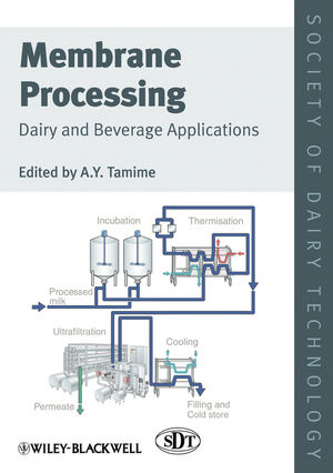 Membrane Processing: Dairy and Beverage Applications (1118457021) cover image