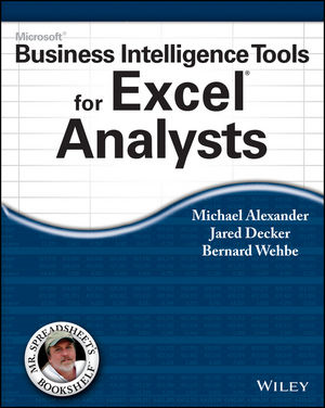 microsoft business intelligence tools for excel analysts microsoft