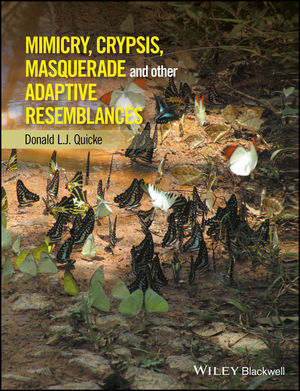 Mimicry, Crypsis, Masquerade and other Adaptive Resemblances (1118931521) cover image