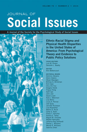 Ethnic-Racial Stigma and Physical Health Disparities in the United States of America: From Psychological Theory and Evidence to Public Policy Solutions