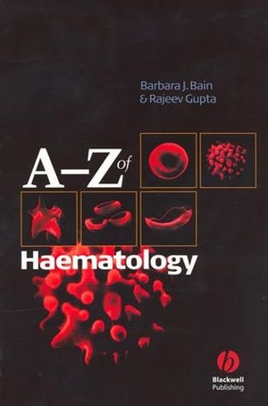 A - Z of Haematology (1405103221) cover image