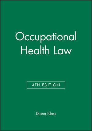 Occupational Health Law, 4th Edition (1405144521) cover image