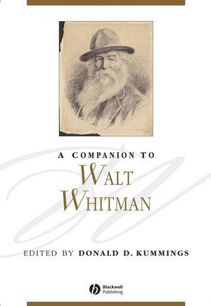 A Companion to Walt Whitman (1405154721) cover image