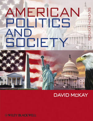 American Politics and Society, 7th Edition (1405188421) cover image