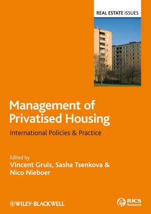 Management of Privatised Social Housing: International Policies and Practice (1444322621) cover image