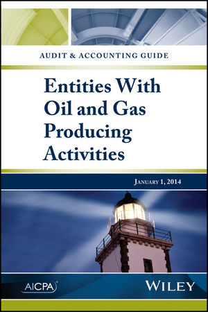 Audit and Accounting Guide: Entities with Oil and Gas Producing Activities (1940235421) cover image