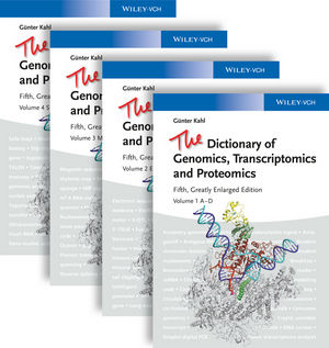 The Dictionary of Genomics, Transcriptomics and Proteomics, 4 Volume Set, 5th Edition