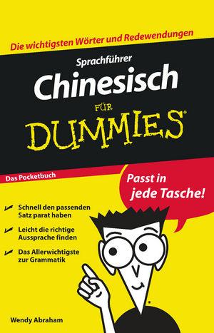 Sprachführer Chinesisch für Dummies Das Pocketbuch