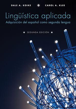 Lingüística aplicada: Adquisición del español como segunda lengua (EHEP002421) cover image