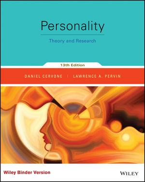 Personality theory and research daniel cervone