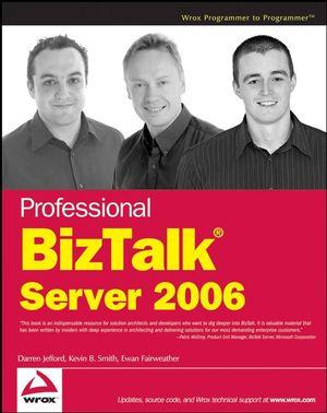 Professional BizTalk Server 2006 (0470046422) cover image