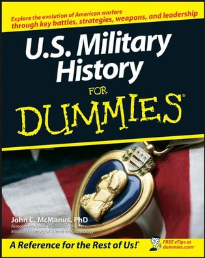 U.S. Military History For Dummies (0470165022) cover image