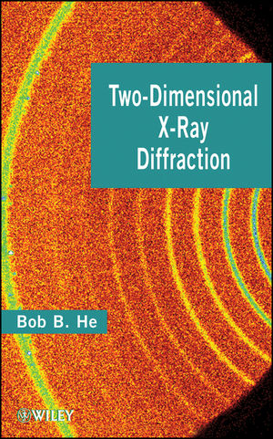 Two-dimensional X-Ray Diffraction (0470227222) cover image